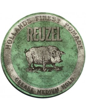 Reuzel Green Pomade Grease Medium Hold